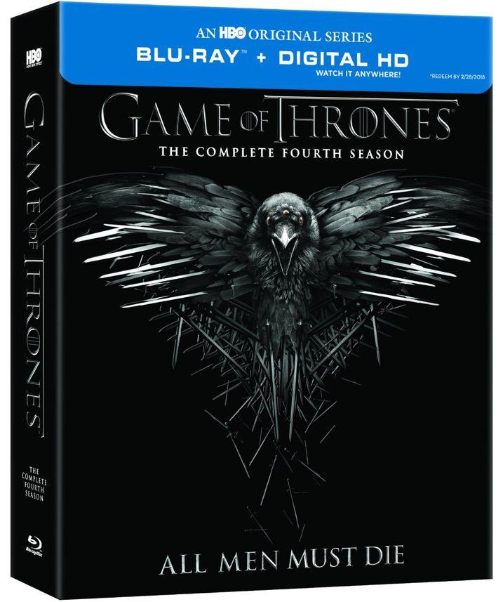 Game of Thrones Season 4 Blu-ray