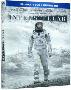 Interstellar Blu-ray Cover Art