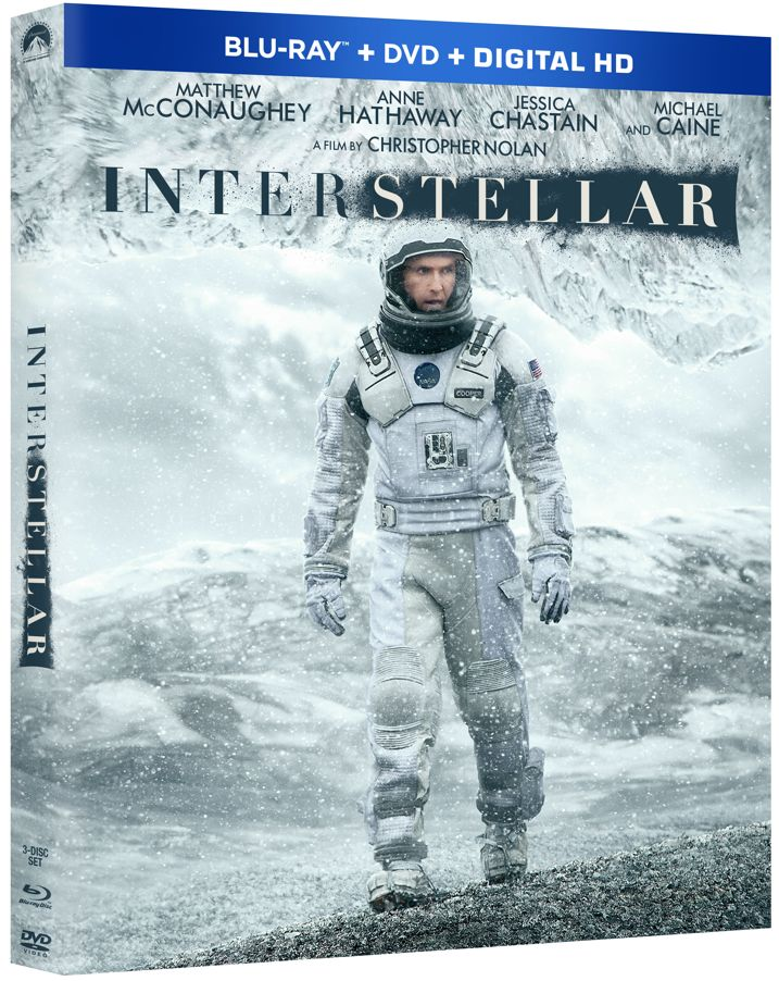 Interstellar Blu-ray Cover Art
