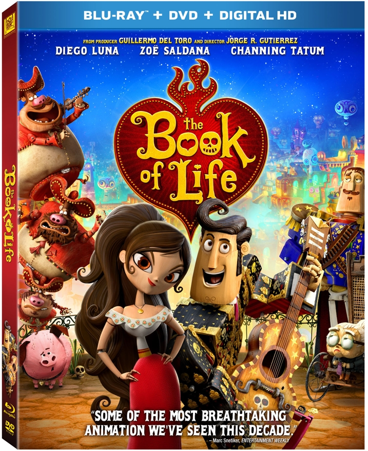 The Book of Life Blu-ray Cover Art