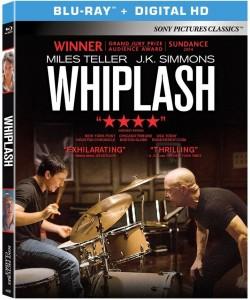 Whiplash Blu-ray Cover
