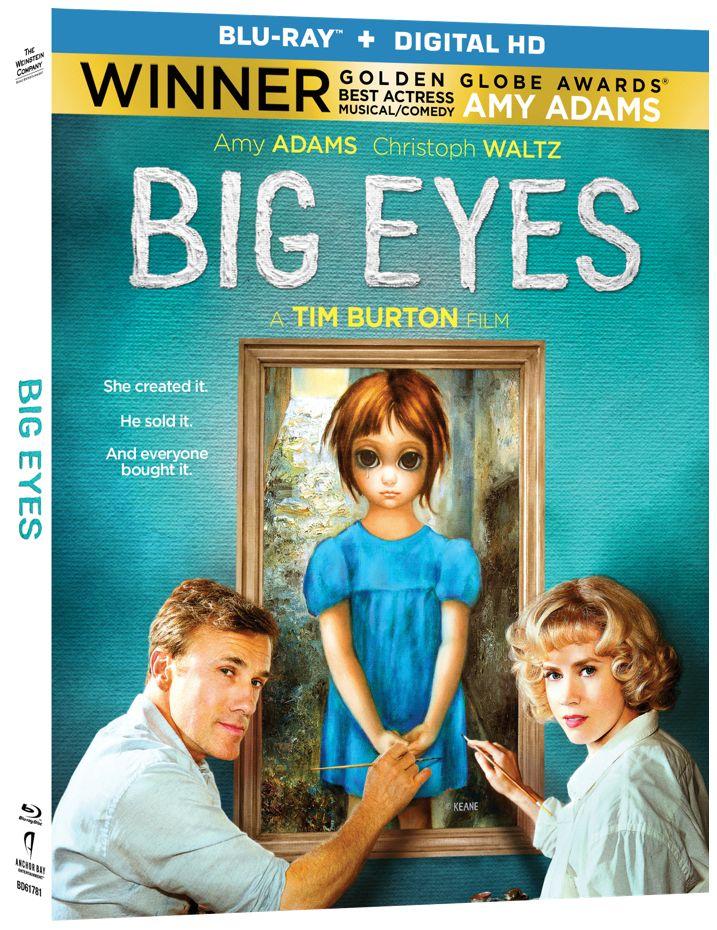 Big Eyes Blu-ray
