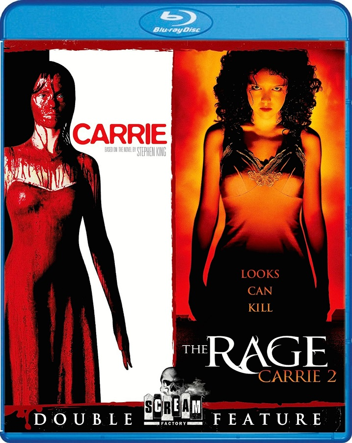 Carrie-Double Feature-Blu-ray