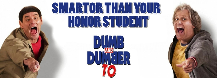 Dumb and Dumber To Bumper Sticker