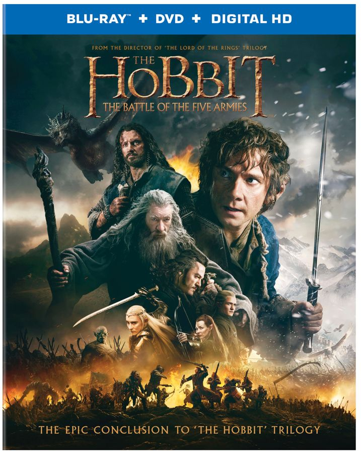 The Hobbit The Battle of the Five Armies Blu-ray