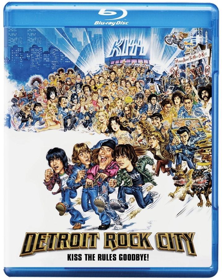 Detroit Rock City Blu-ray Cover Art