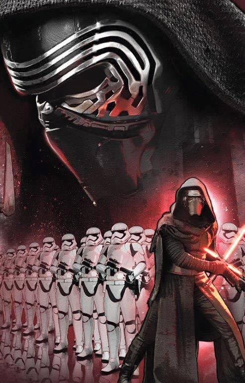 Force Awakens Kylo Ren art