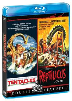 Tentacles-Reptilicus Double Feature MED