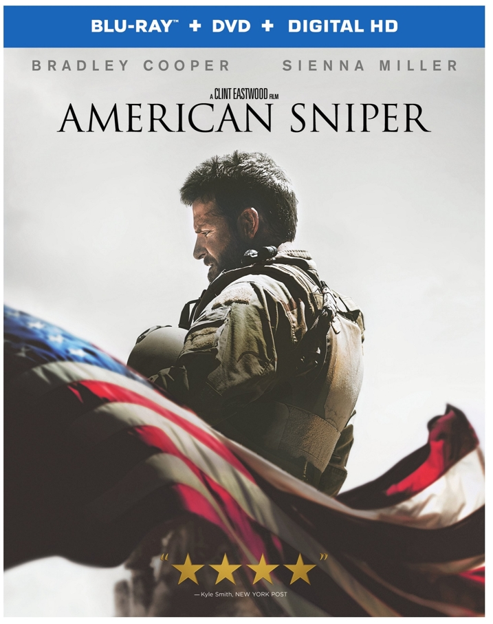 American Sniper Blu-ray Cover Art