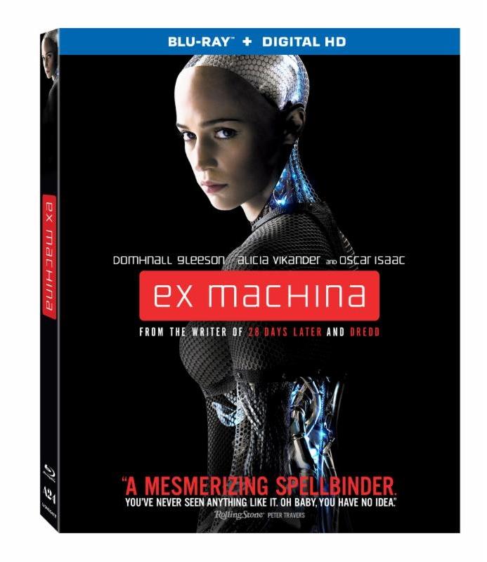 Ex Machina Blu-ray Giveaway!