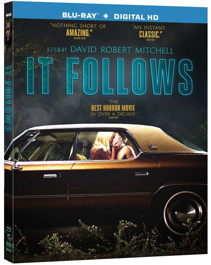 It Follows Blu-ray Cover Art
