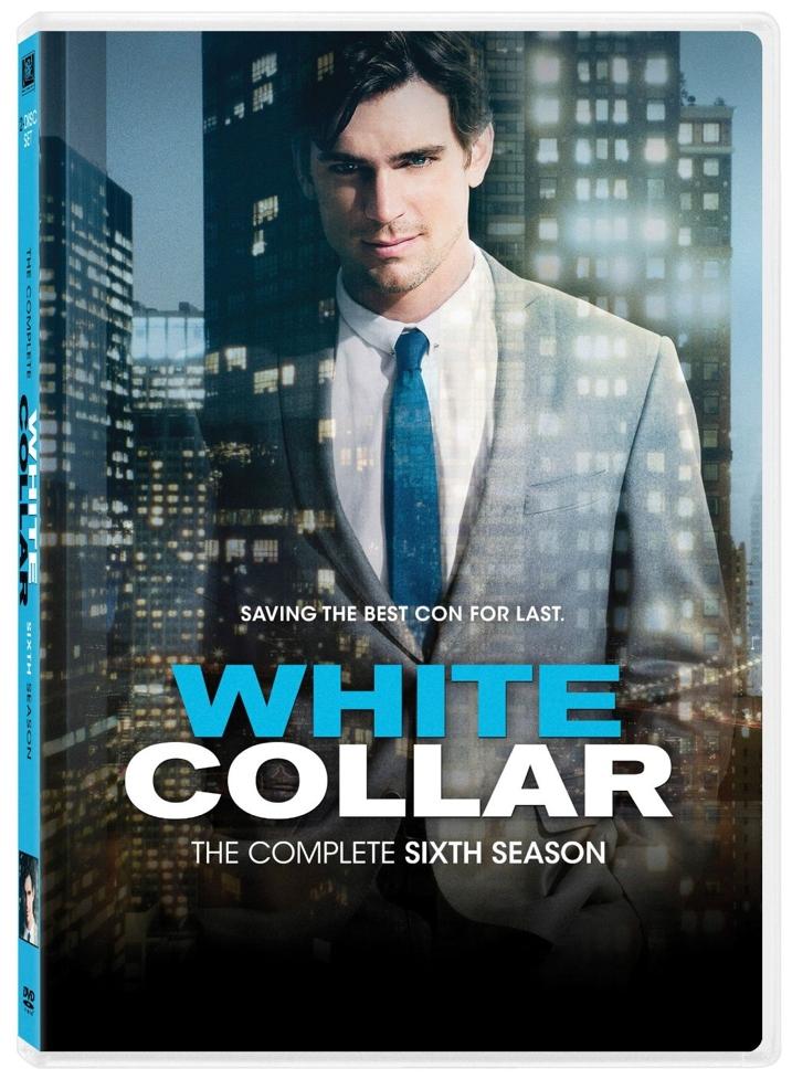White Collar Sixth Season DVD Cover Art