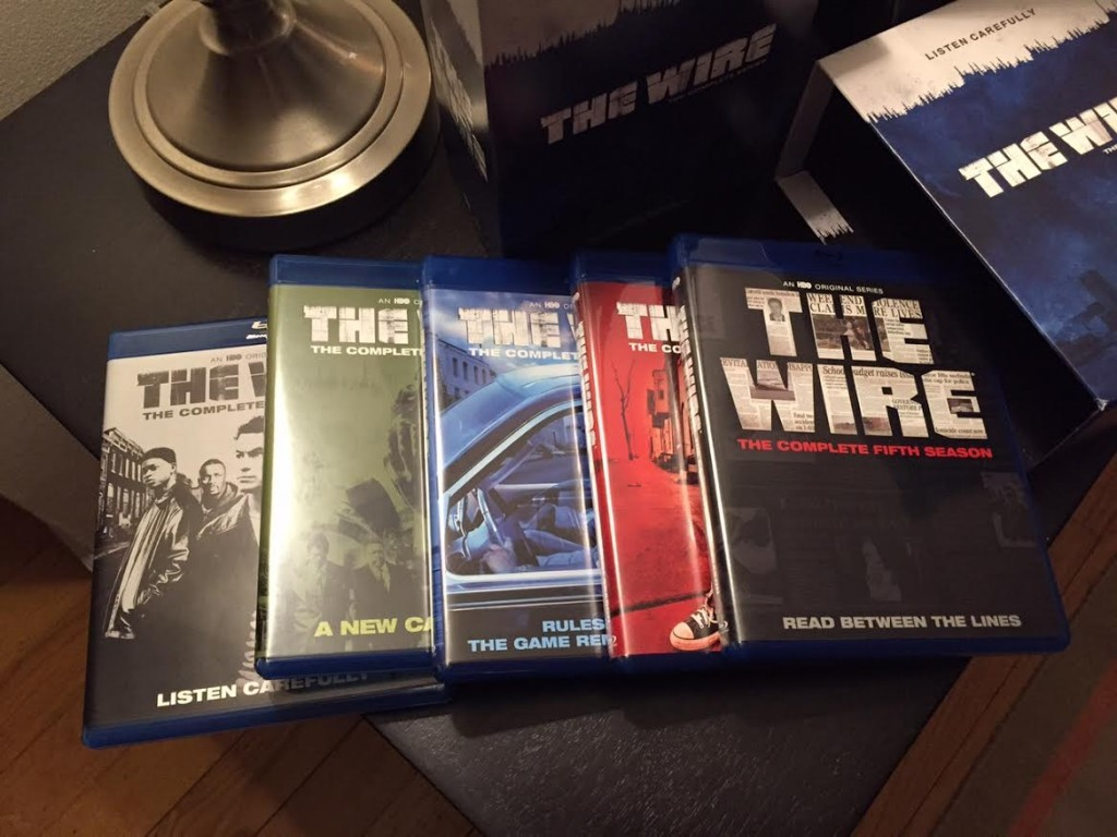 the wire compelte series