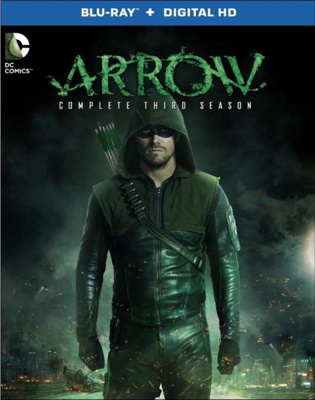 Arrow-Season 3-Blu-ray