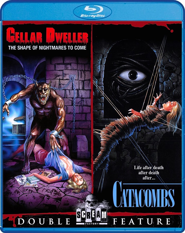 Cellar-Dweller-Catacombs-Double Feature-Blu-ray