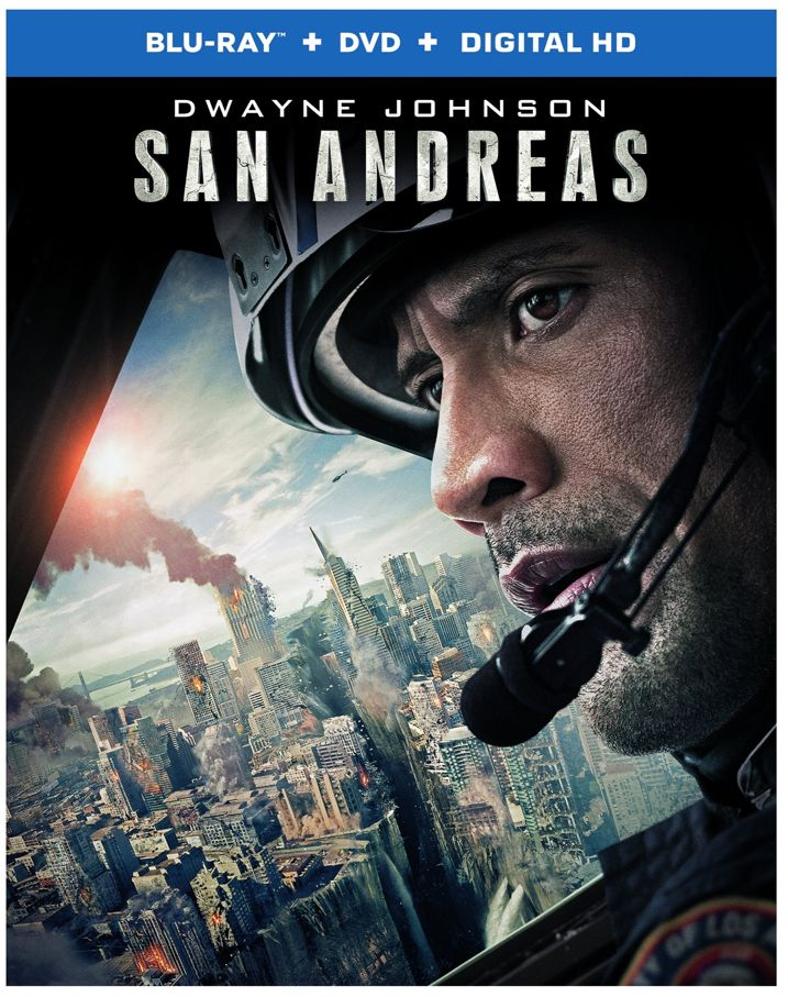 San Andreas Blu-ray Cover Art