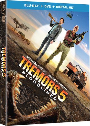 Tremors 5-Blu-ray