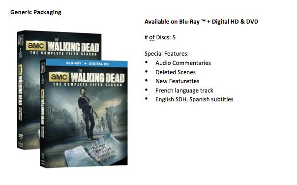 Walking Dead Season 5 Generic