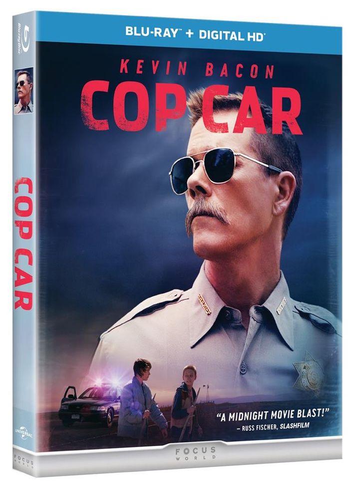 Cop Car Blu-ray Cover Art