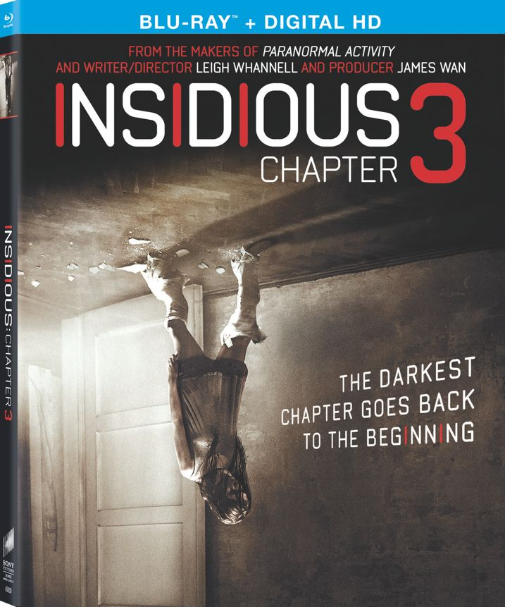 Insidious Chapter 3 Blu-ray Cover Art