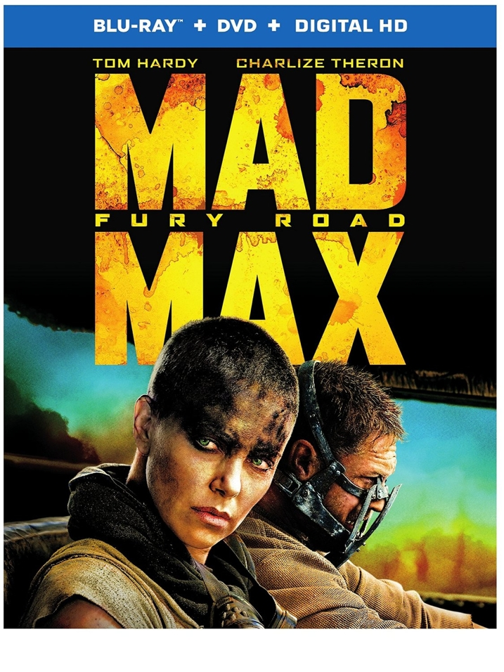Mad Max Fury Road Blu-ray Cover