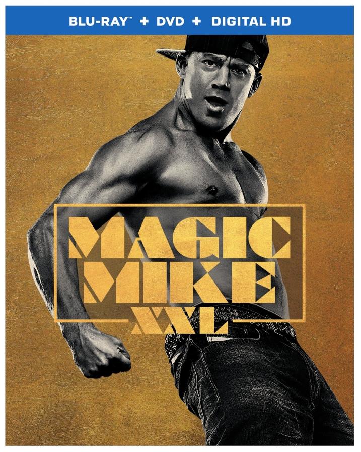 Magic Mike XXL Blu-ray Cover Art