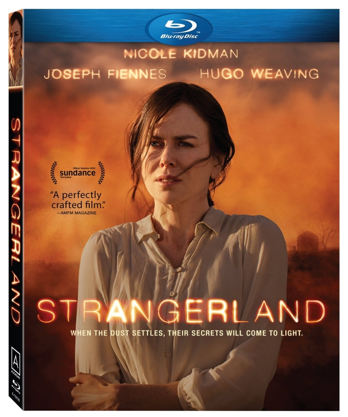Strangerland Blu-ray Cover Art