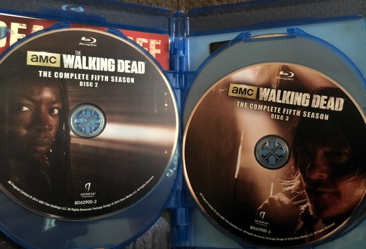 The Walking Dead Season 5 Blu-ray