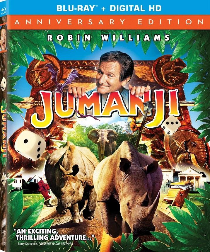Jumanji-Blu-ray