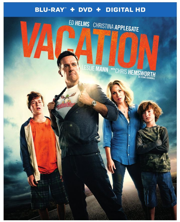 Vacation Blu-ray Cover