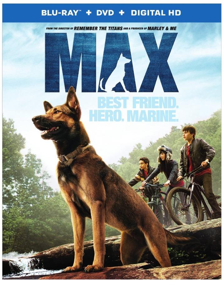 Max Blu-ray Cover Art