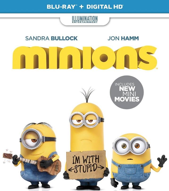 Minions-Blu-ray