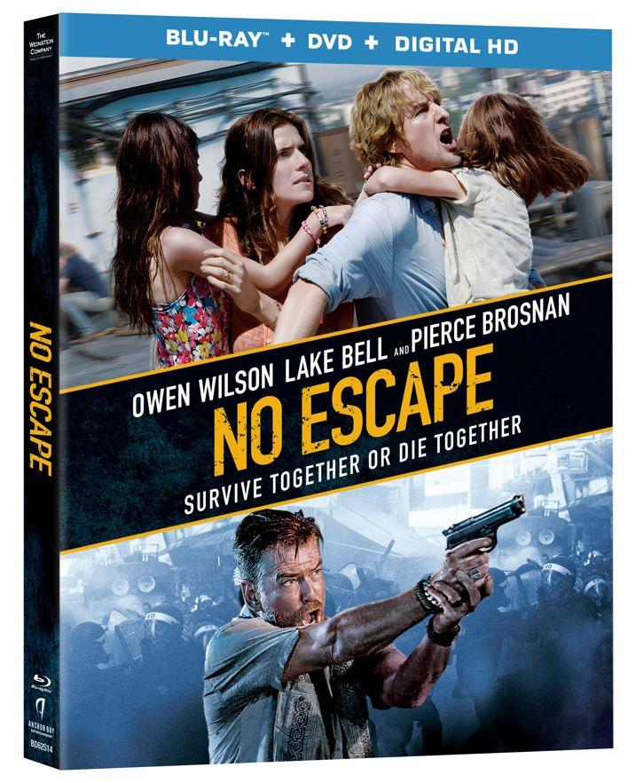 No Escape Blu-ray Cover