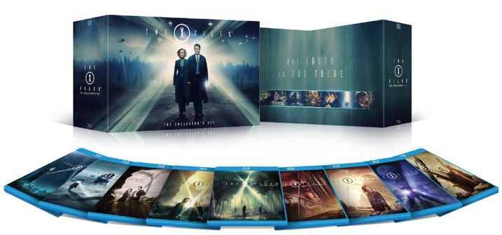 The X-Files Collector Set Blu-rays