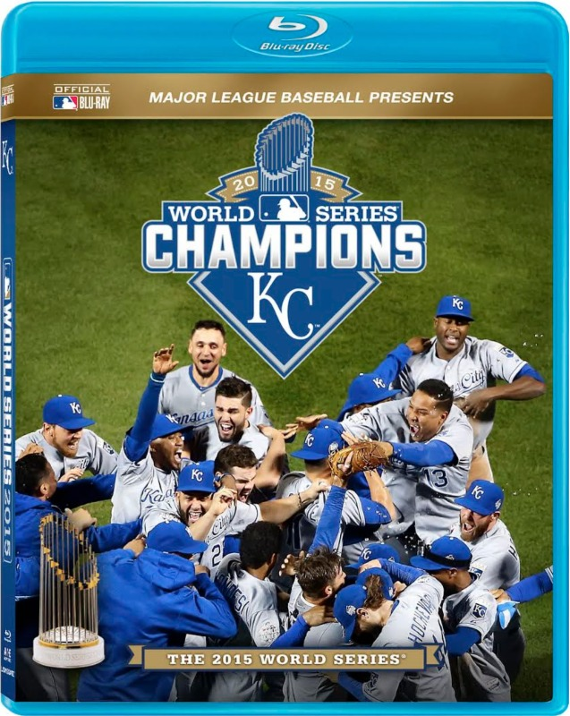 Kansas City Royals World Series Blu-ray