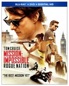 Mission Impossible Rogue Nation Blu-ray Cover