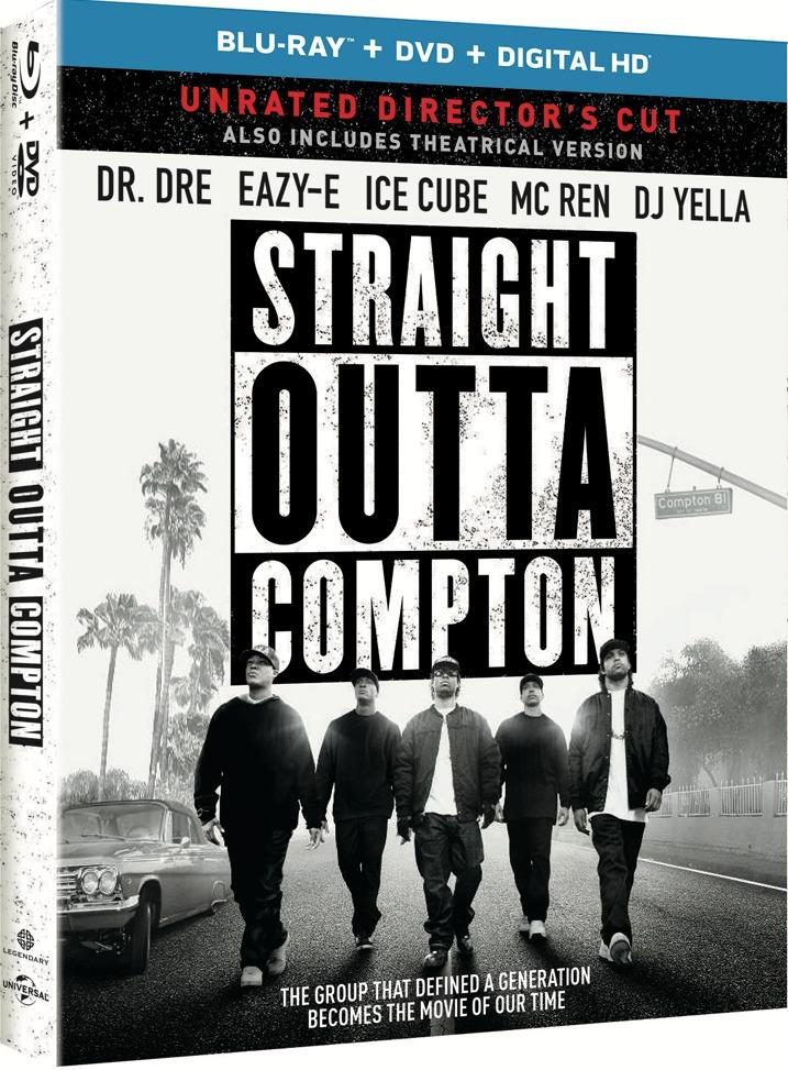 Straight Outta Compton Blu-ray Cover Art