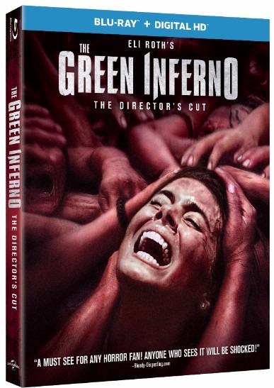 The Green Inferno Blu-ray