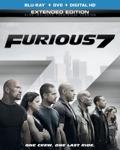 Furious 7 Blu-ray