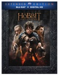 The Hobbit Battle of Five Armies Blu-ray