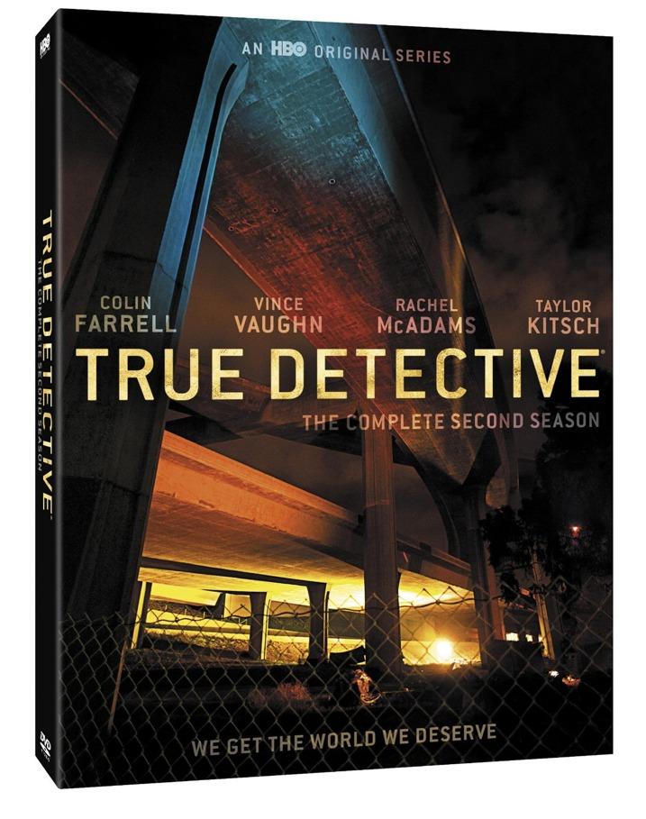 True Detective Season 2 Blu-ray Cover