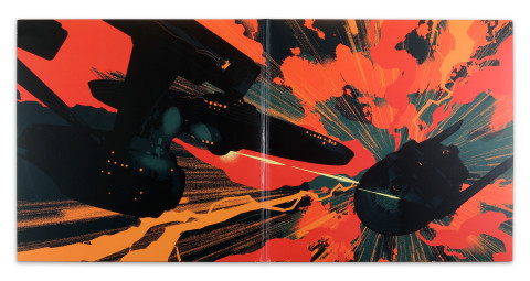Star Trek 2: The Wrath of Kahn - Deluxe Vinyl re-issue available on Jan. 13th from Mondo.