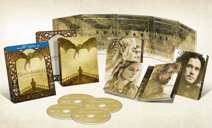 Game of Thrones Season 5 Blu-ray Set
