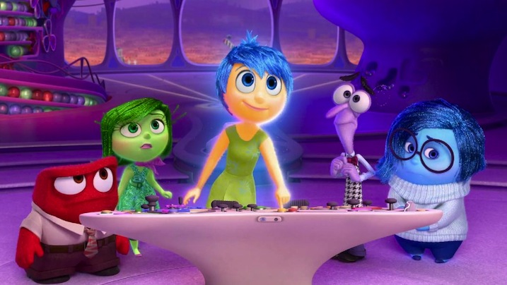 The 2015 film that made Shohan cry: Inside Out.