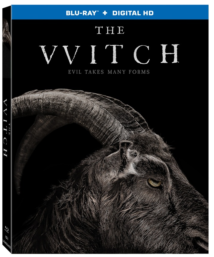 The Witch Blu-ray Cover Art