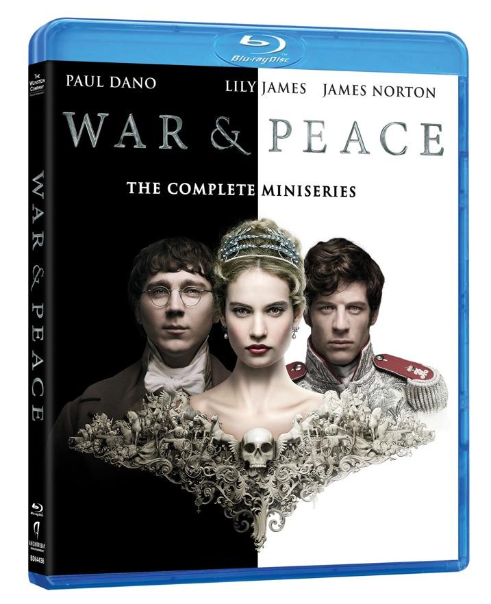 War & Peace Blu-ray Cover Art