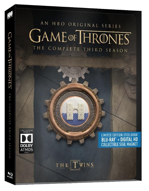 Game of Thrones Season 3 Steelbook Collectors Set