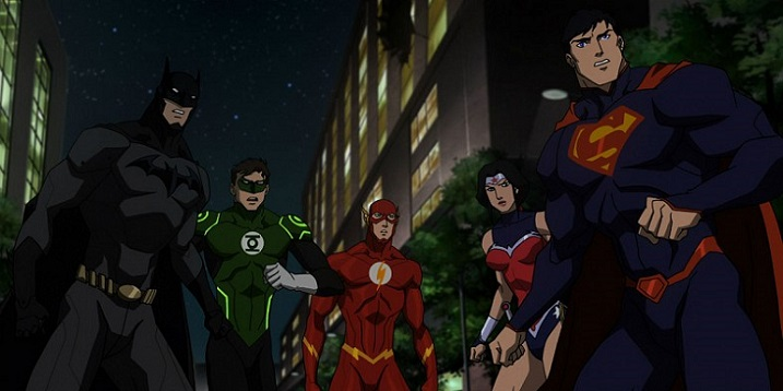 Justice League Vs Teen Titans 1