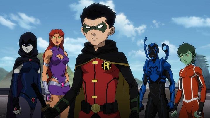 Justice League Vs Teen Titans 3
