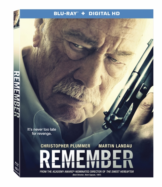 Remember arrives on Blu-ray and DVD May 3rd!